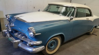 1955 Dodge Custom Royal Lancer restoration
