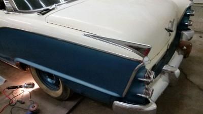 1955 Dodge Custom Royal Lancer restoration