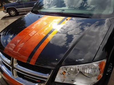 MaxArt airbrush - Dodge Grand Caravan