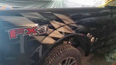 MaxArt airbrush - Ford FX4