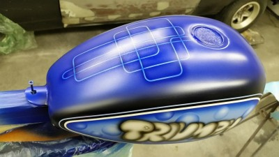 Fuel tank - Airbrush by Maxart