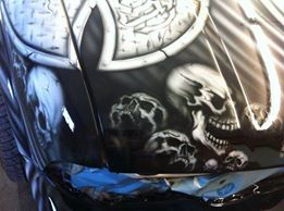 MaxArt airbrush - GMC Jimmy