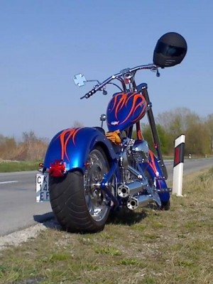 Custom HD chopper by Maxart