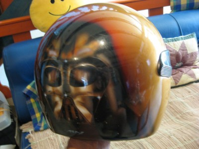 Airbrush by Maxart - airbrush on helmet
