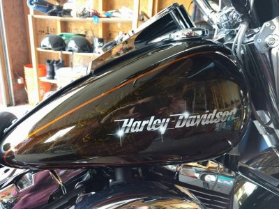 Harley Davidson Heritage Softail Classic - Airbrush by MaxArt