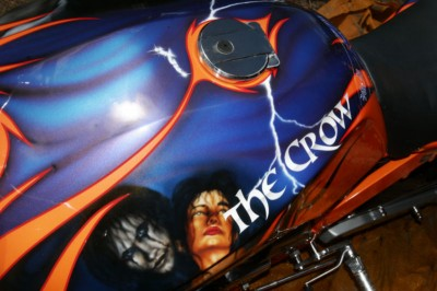 Airbrush by Maxart - The Crow