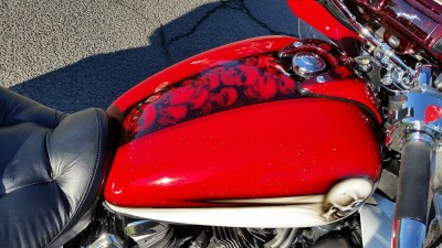 Yamaha Royal Star Venture - Airbrush by Maxart