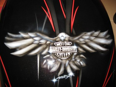 Airbrush by Maxart - HD V-Rod