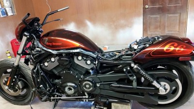 Airbrush by Maxart - Harley Davidson Night Rod 66