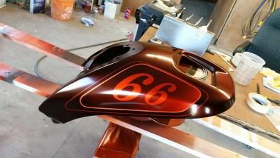 Airbrush by Maxart - Harley Davidson Night Rod 66