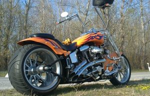 Orange chopper HD by MaxArt