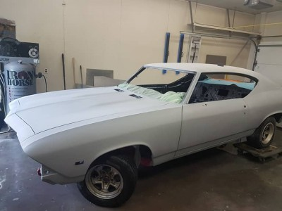 1968 Chevrolet Chevelle SS - full restoration