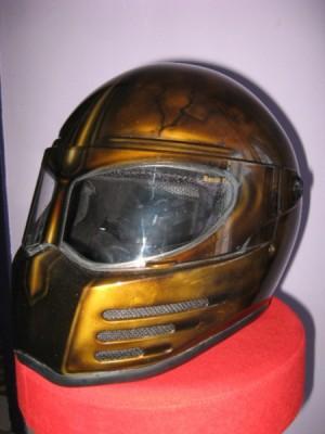 Airbrush by Maxart - airbrush on helmet